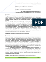 Amieva S.- El Pensamiento Administrativo y Las Instituciones Educativas