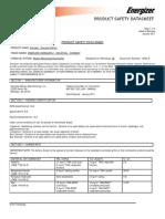 Datasheet Bateria OSID