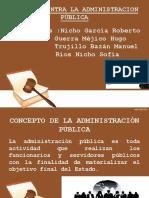 Diapositivas Delitos Contra La Administración Pública
