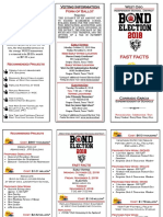 West Oso ISD bond election brochure