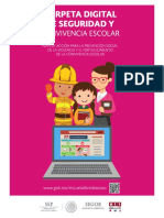 Carpeta Digital Seguridad Convencia Escolar