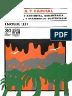 Ecología y capital. Racionalidad ambiental, democracia participativa y desarrollo sustentable.