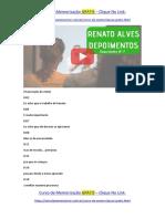 Renato Alves depoimentos [7] O curso ajuda a não sofrer ao estudar