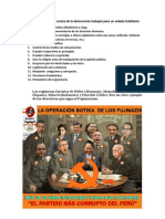 Estado Totalitario Del Fujimorismo