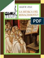 1. a. Atlas - Musica Del Renacimiento