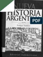 La sociedad colonial. Raza, etnicidad, clase y genero S. XVI  y XVII - Ana María Presta.pdf