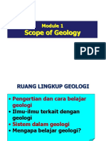 Module 1 - Introduction to Geology