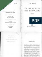 Bowra C. M. - La Herencia Del Simbolismo