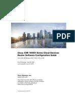 Cisco CSR 1000V Series Cloud Services Router Software Configuration Guide