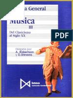 Robertson & Stevens - Historia General de La Música III