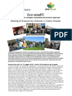 NL Nr 2 Eco-SmaRT Newsletter Oct_2018_ITA