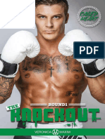 A Caged Heart Sports Series 1- The Knockout- A BWWM Interracial Romance Book (Alpha MMA Fighter Short Stories) by Veronica Maxim