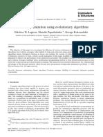 Structural optimization using evolutionary algorithms.pdf