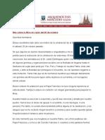 La carta del Obispo Agustín Radrizzani en la que pide perdón