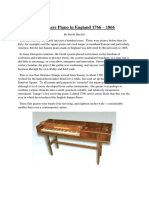 The Square Piano in England 1766 PDF