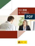 GUÍA DE TRÁMITES Gobierno España2018-1