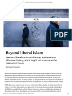 Is It Time to Look Beyond the Idea of Liberal Islam