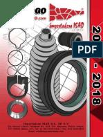 Catalogo de Cremalleras