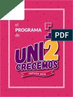 Programa Unid@s Crecemos - Lista 2 FEPUCV
