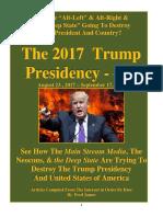 Trump Presidency 14 - August 23 , 2017 – September 17 , 2017