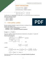 Dispensa Complementi Metodi Integrazione - Liceo