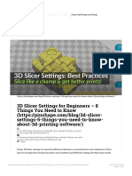 3D Slicer Settings for Beginners - 8 Things You Need to Know