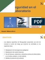 Práctica 1 - Bioseguridad en Laboratorio