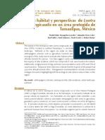Artículo Uso Habitat Nutria