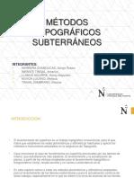 Métodos Topográficos Subterráneos Grupo 2
