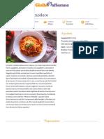 GZRic Spaghetti Al Pomodoro