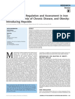 Rethinking Iron Regulation and Assessment in Iron
