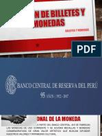 Emisión de Billetes y Monedas