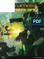 Record Sheets 3075