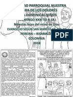 HOJITA EVANGELIO NIÑOS DOMINGO XXXI TO B 18 BN