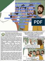 HOJITA EVANGELIO NIÑOS DOMINGO XXXI TO B 18 COLOR