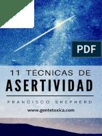 11 Técnicas de asertividad - Gente Tóxica Com.pdf