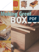 Coll.-wood Magazine Making Great Boxes-Sterling Pub (2007)