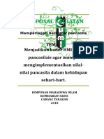 Proposal Kegiatan Pancasila