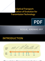 40G Optical Transport - A Case Study