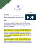 BDO Unibank vs Nerbes G.R. No. 208735 July 19 2017