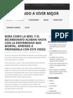 MIRA COMO LA MIEL Y EL BICARBONATO ACABAN HASTA CON LA ENFERMEDAD MAS MORTAL. APRENDE A PREPARARLA CON ESTE VIDEO.pdf