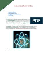 La Química Nuclear MEDICINA y Aplicaciones