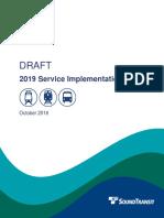 Sound Transit - 2019 Draft SIP