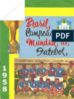 Brasil campeão de 1958