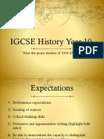 IGCSE Year 10 Lesson 2