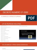 Decreto Numero 57-2000