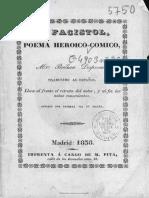 El Facistol. Nicolas Boileau