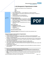 Hypokalaemia Guidelines
