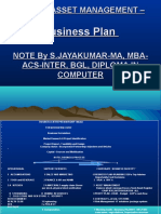 Hotel Asset Management Business Plan