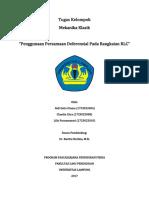 Tugas Kelompok Mekanika (RLC)